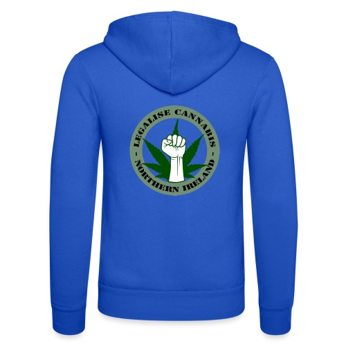 Legalise Cannabis - Northern Ireland - Unisex Hooded Jacket by Bella + Canvas