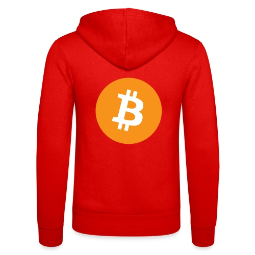 Bitcoin - Unisex Hooded Jacket by Bella + Canvas