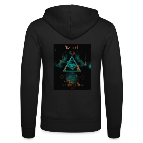 Truth is a beautiful thing - Unisex Hooded Jacket by Bella + Canvas