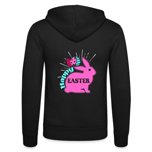 Happy Easter - Frohe Ostern - Unisex Kapuzenjacke von Bella + Canvas