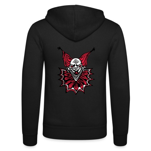 The Clown - Unisex Hooded Jacket by Bella + Canvas