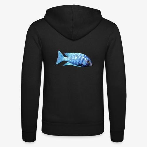 MIXED AFRICAN CICHLIDS - Unisex Hooded Jacket by Bella + Canvas