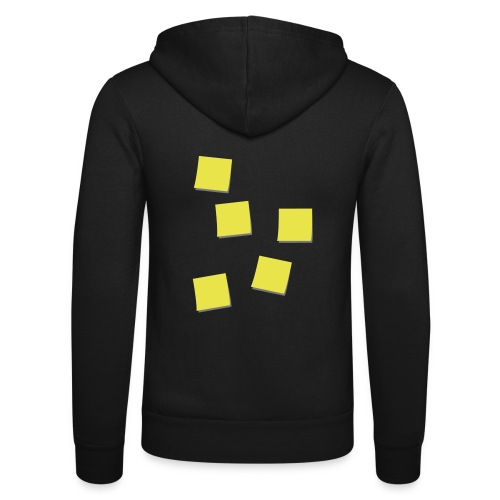 Post-Its - Unisex hoodie van Bella + Canvas