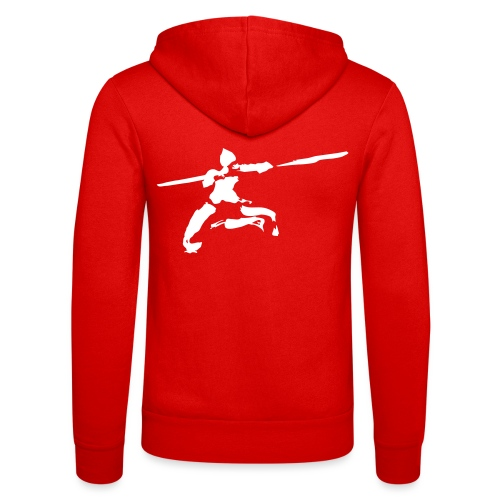 kungfu real ink - Unisex Hooded Jacket by Bella + Canvas