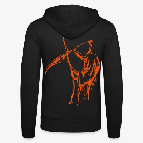 Death Labled - Unisex Kapuzenjacke von Bella + Canvas