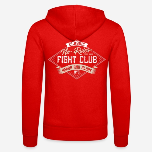 Kampf Club Karate - Unisex Kapuzenjacke von Bella + Canvas