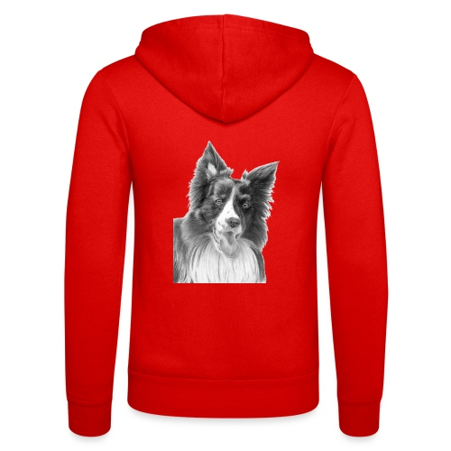 border collie 3 - Unisex hættejakke fra Bella + Canvas