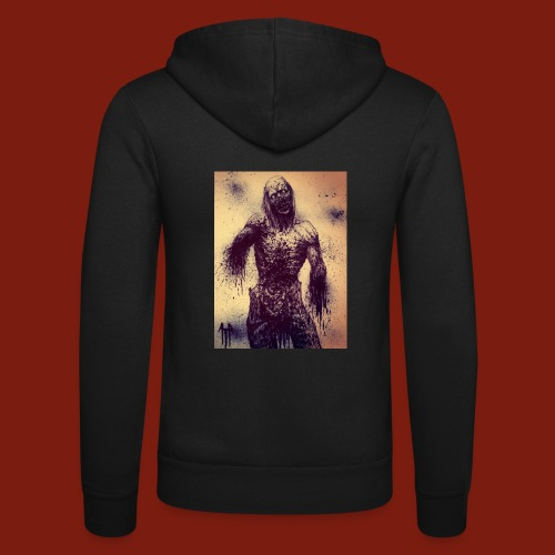 Zombie - Unisex Hooded Jacket by Bella + Canvas