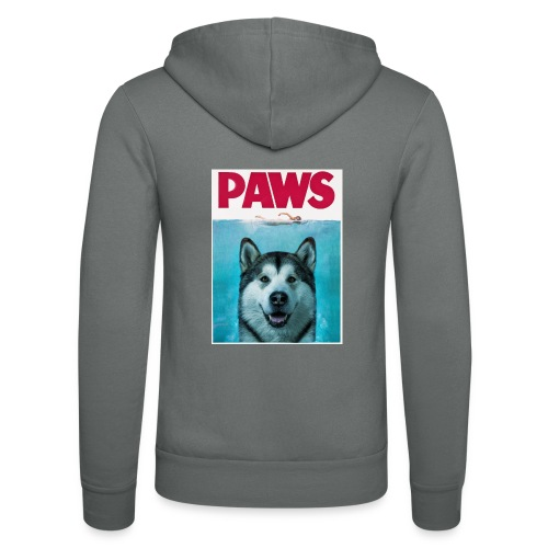 paws 2 - Unisex Hooded Jacket by Bella + Canvas