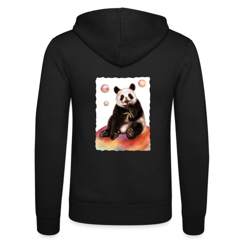 Panda World - Felpa con cappuccio di Bella + Canvas