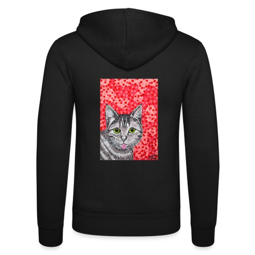The Finnish Cat - Unisex Bella + Canvas -hupputakki