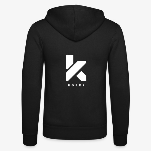 Koshr Official Logo - - Unisex Hooded Jacket by Bella + Canvas