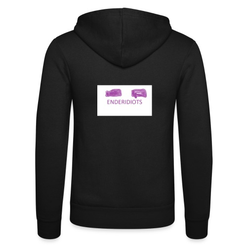 enderproductions enderidiots design - Unisex Hooded Jacket by Bella + Canvas