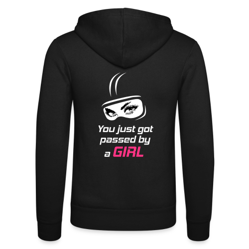 You Just Got Passed By a Girl - Unisex Bella + Canvas -hupputakki
