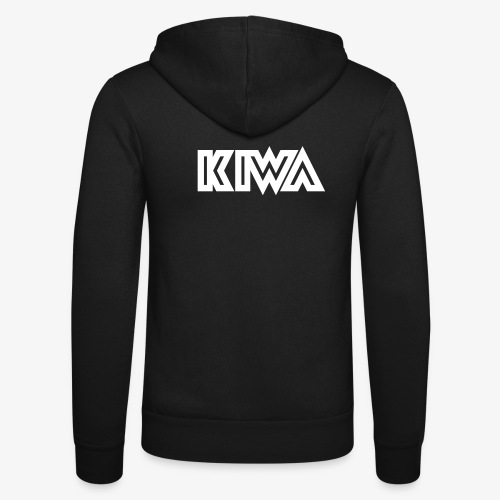 KIWA Logotype - Unisex Hooded Jacket by Bella + Canvas