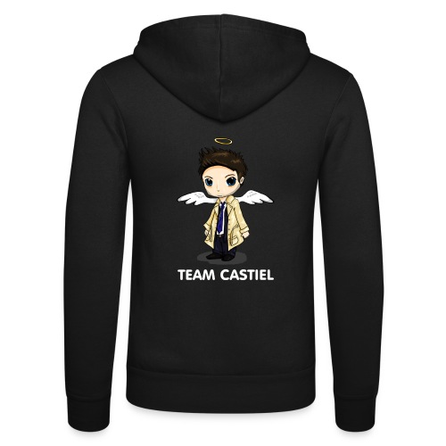Team Castiel (dark) - Unisex Hooded Jacket by Bella + Canvas