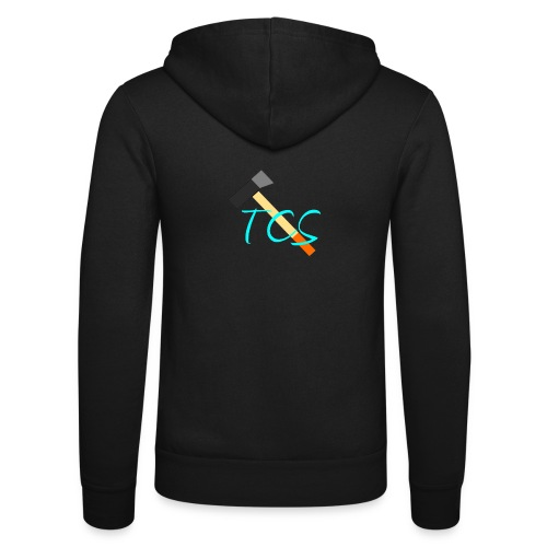 tcs drawn - Unisex Hooded Jacket by Bella + Canvas