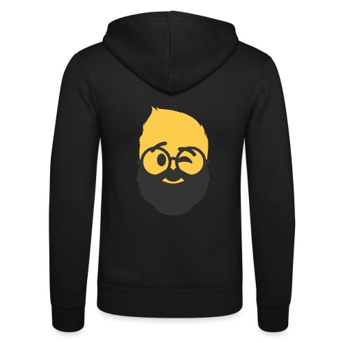 Dougsteins Wink Inverse by Dougsteins - Unisex Hooded Jacket by Bella + Canvas