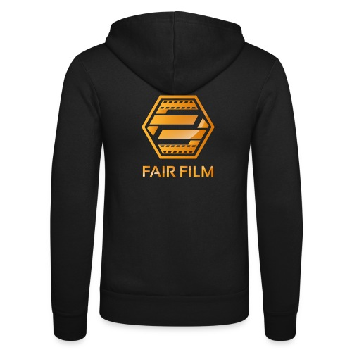 Fair Film Logo - Unisex hættejakke fra Bella + Canvas