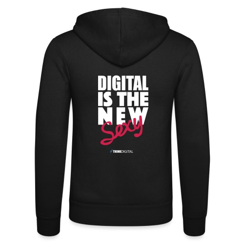DIGITAL is the New Sexy - Felpa con cappuccio di Bella + Canvas