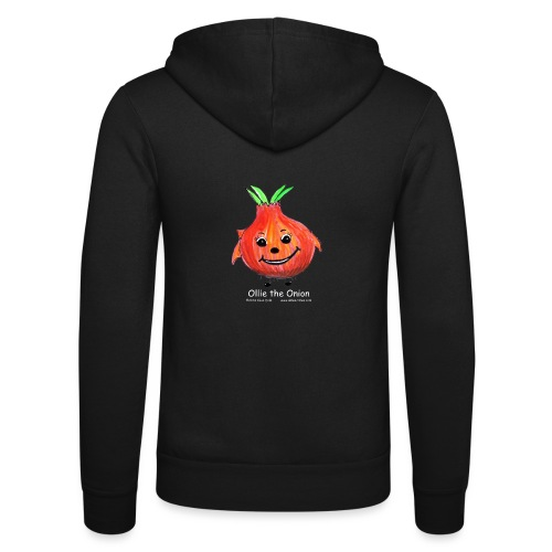 mens black T-shirt Ollie the Onion - Unisex Hooded Jacket by Bella + Canvas