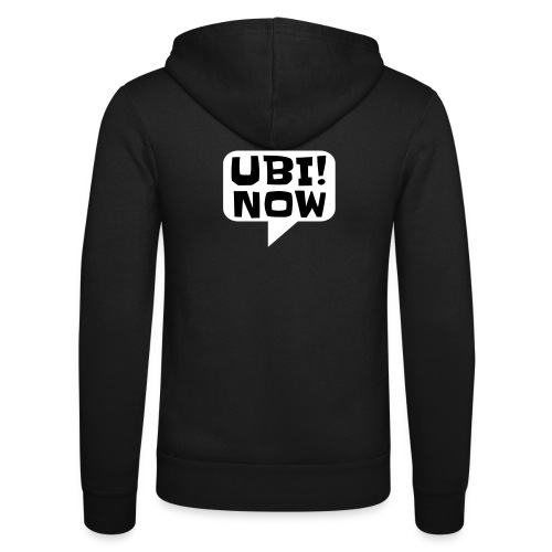 UBI! NOW - The movement - Unisex Hooded Jacket by Bella + Canvas