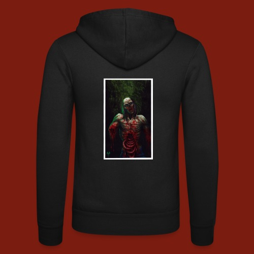 Zombie's Guts - Unisex Hooded Jacket by Bella + Canvas