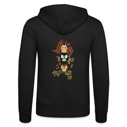 Good Wise Owls - Unisex Kapuzenjacke von Bella + Canvas