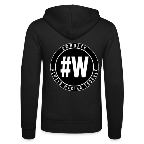 WHOA TV - Unisex Hooded Jacket by Bella + Canvas