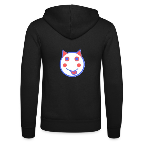 Red White And Blue - Alf Da Cat - Unisex Hooded Jacket by Bella + Canvas
