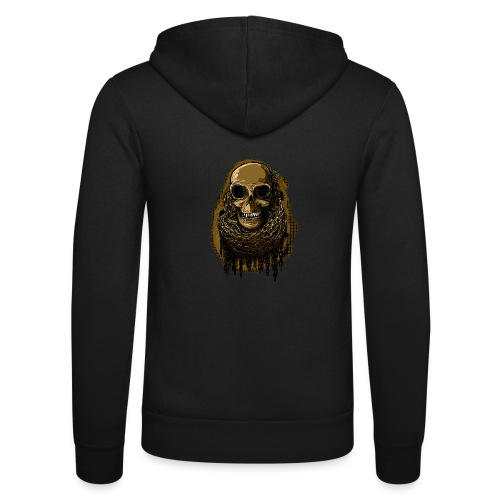 Skull in Chains YeOllo - Unisex Hooded Jacket by Bella + Canvas