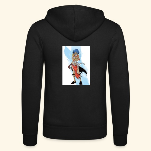 Nadia: The Secret of Blue Water - Unisex Hooded Jacket by Bella + Canvas