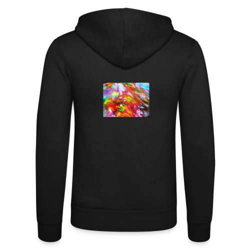 abstract 1 - Unisex Hooded Jacket by Bella + Canvas