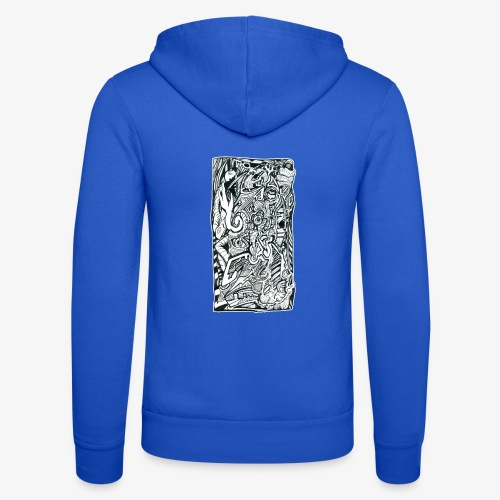 Anxiety Trip - Unisex Hooded Jacket by Bella + Canvas
