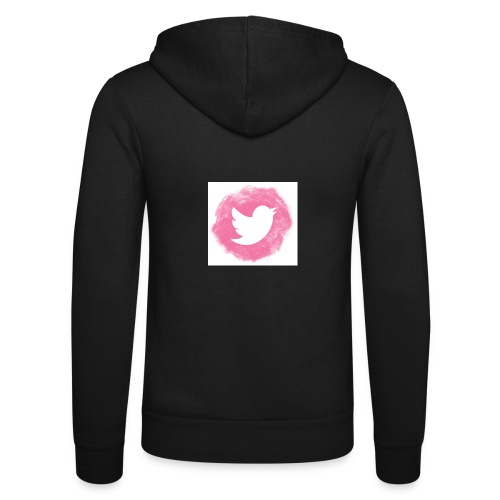 pink twitt - Unisex Hooded Jacket by Bella + Canvas