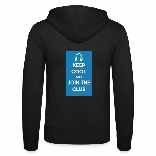 Join the club - Unisex Hooded Jacket by Bella + Canvas