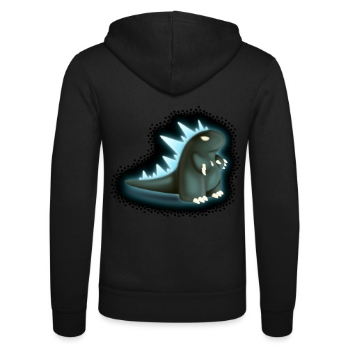 Cartoon Monster King - Unisex Hooded Jacket by Bella + Canvas