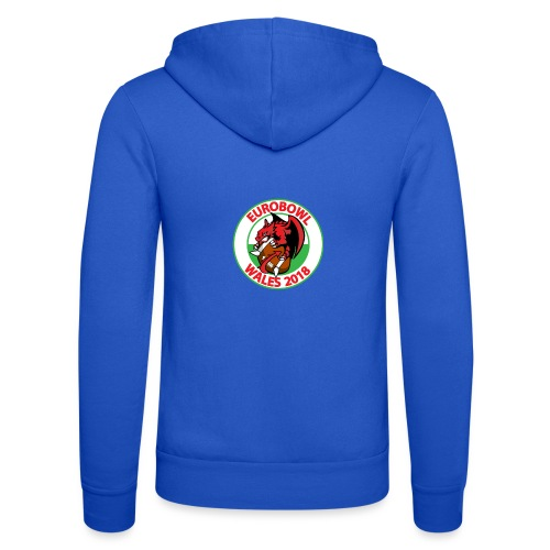 Eurobowl Wales 2018 - Unisex Hooded Jacket by Bella + Canvas