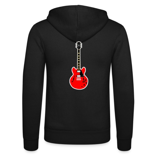 Guitare dos / Vully Blues classique poitrine - Unisex Kapuzenjacke von Bella + Canvas