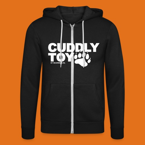cuddly toy new - Unisex Hooded Jacket by Bella + Canvas
