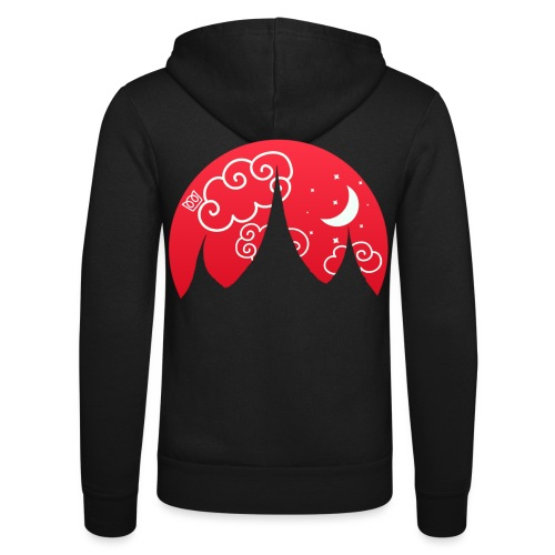 Fairytale Fortress - Unisex Hooded Jacket by Bella + Canvas