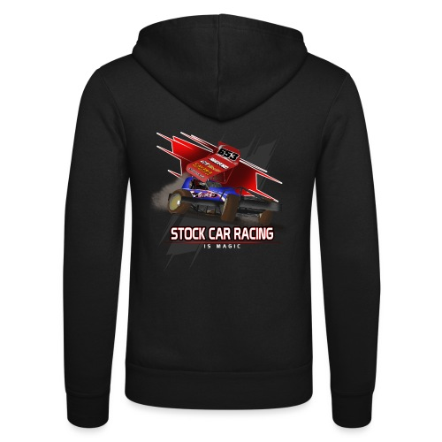 Stock Car Racing is Magic - Unisex Hooded Jacket by Bella + Canvas