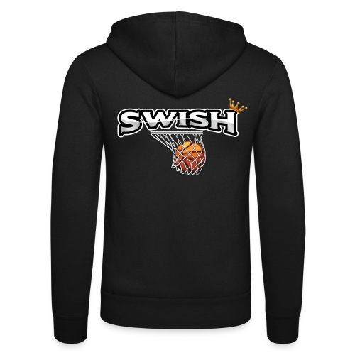 The king of swish - For basketball players - Unisex Hooded Jacket by Bella + Canvas