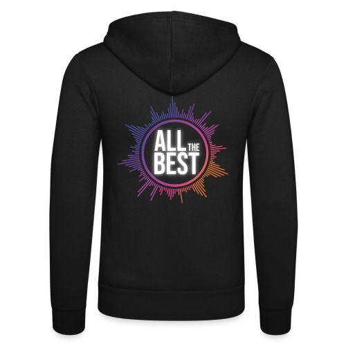 All The Best Logo - Unisex Hooded Jacket by Bella + Canvas