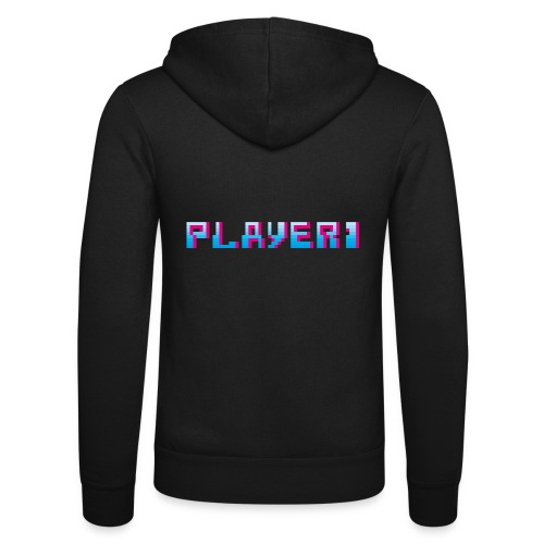 Arcade Game - Player 1 - Unisex Hooded Jacket by Bella + Canvas