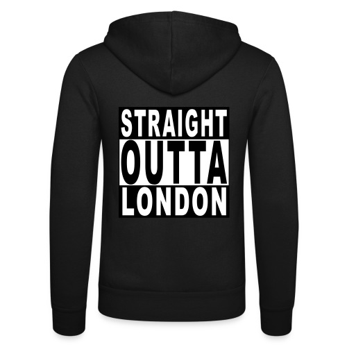 STRAIGHT OUTTA LONDON - Unisex Hooded Jacket by Bella + Canvas