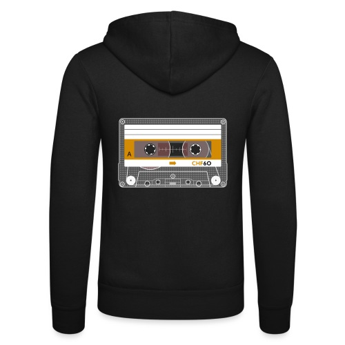 Cassette CHF - Unisex Hooded Jacket by Bella + Canvas