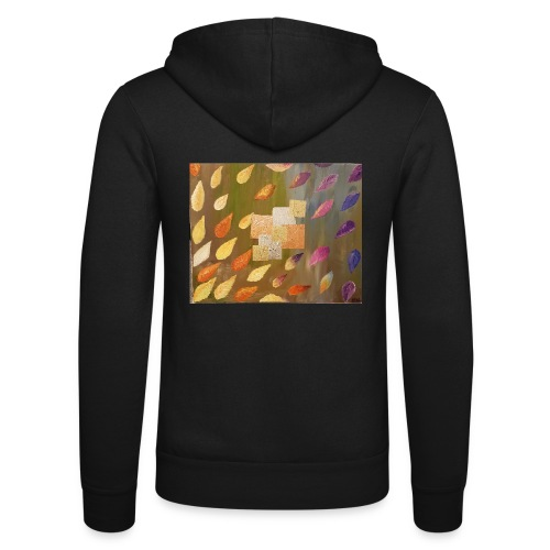 gold copper silver - Unisex Hooded Jacket by Bella + Canvas