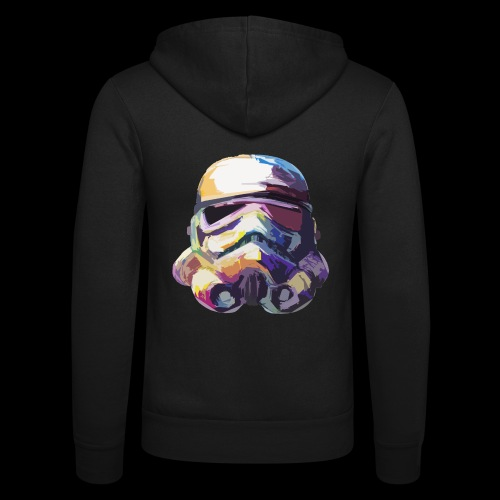 Stormtrooper with Hope - Unisex Hooded Jacket by Bella + Canvas