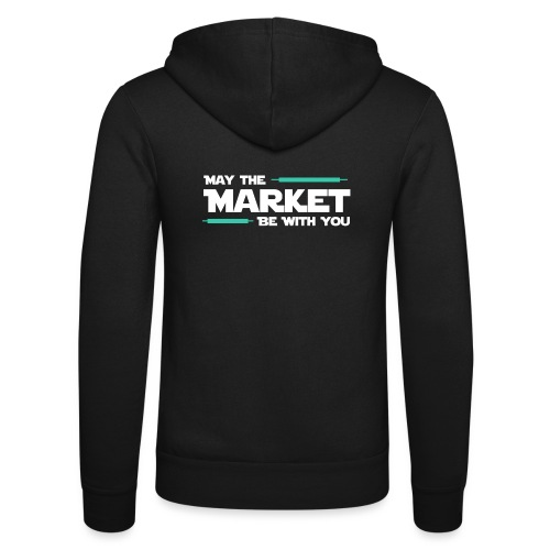 May the market be with you - Veste à capuche unisexe Bella + Canvas